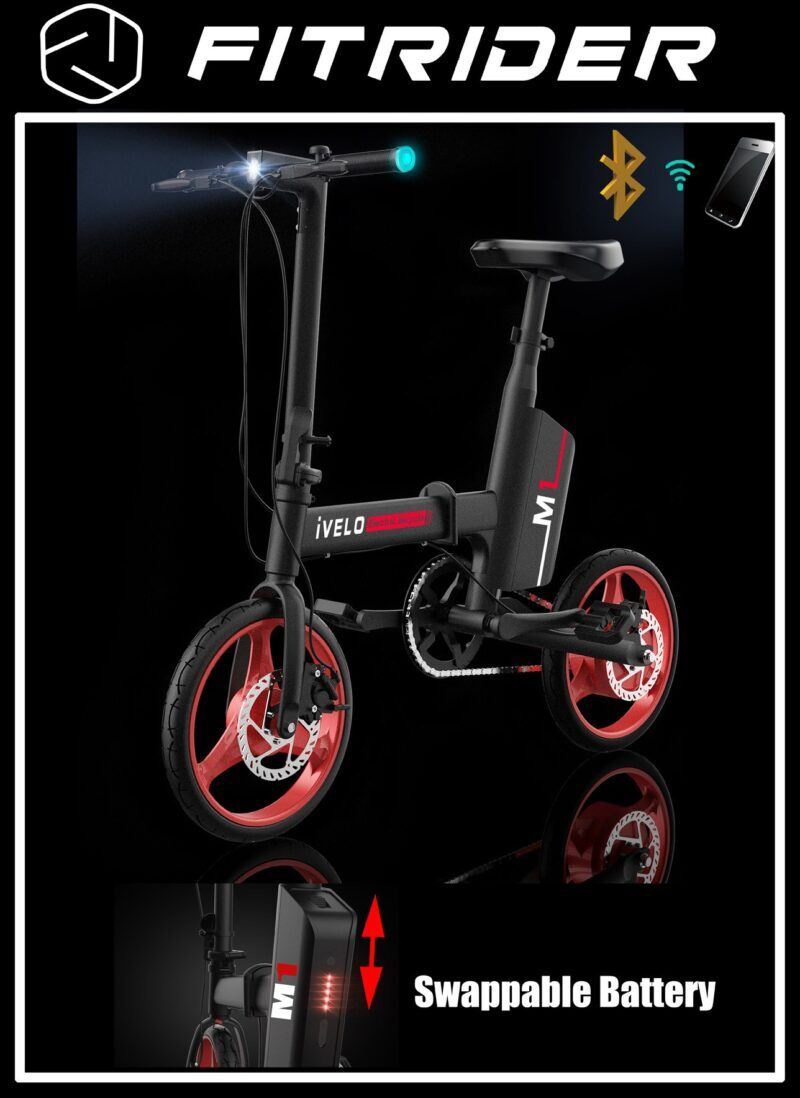 ivelo M1 electric bicycle pic2