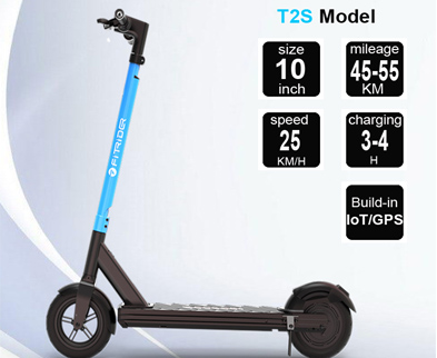 rental Electric kick Scooter sharing model Fitrider T2S