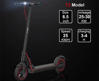 Fitrider T2 electric scooter swappable battery