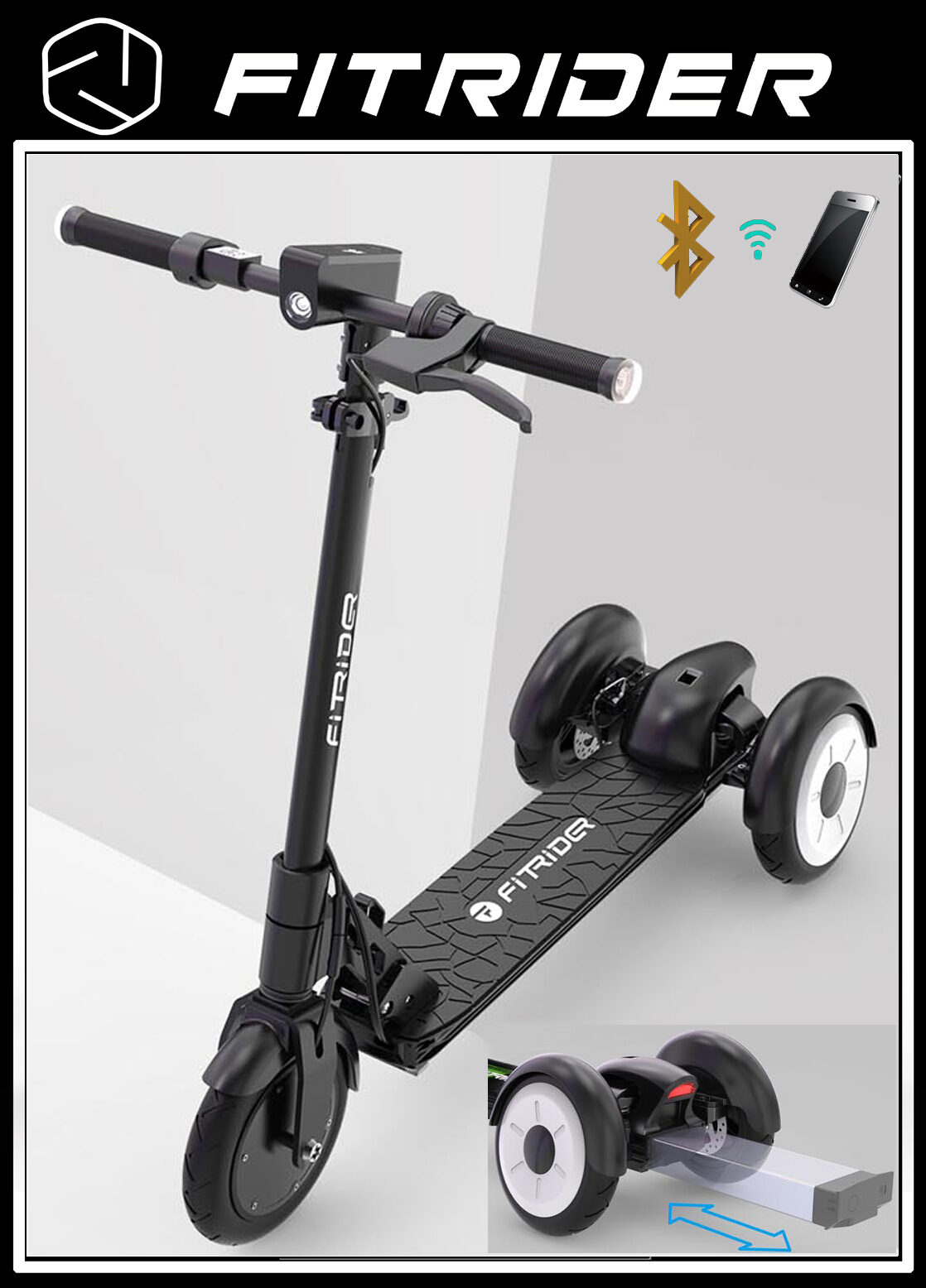 FitRider T3 Electric Scooter