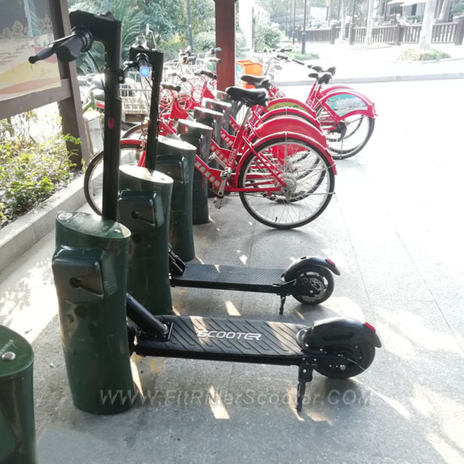 China fitrider charging docking station of sharing scooter and sharing electric bike