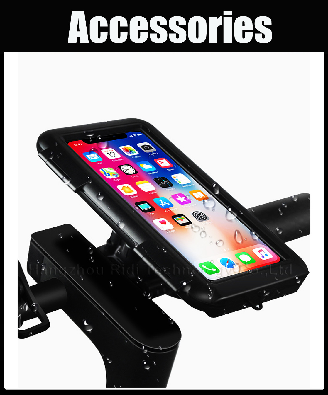 scooter electric bike mobile phone holder